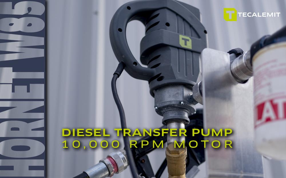 TECALEMIT's Hornet W85 Diesel Transfer Pump - A Work Horse