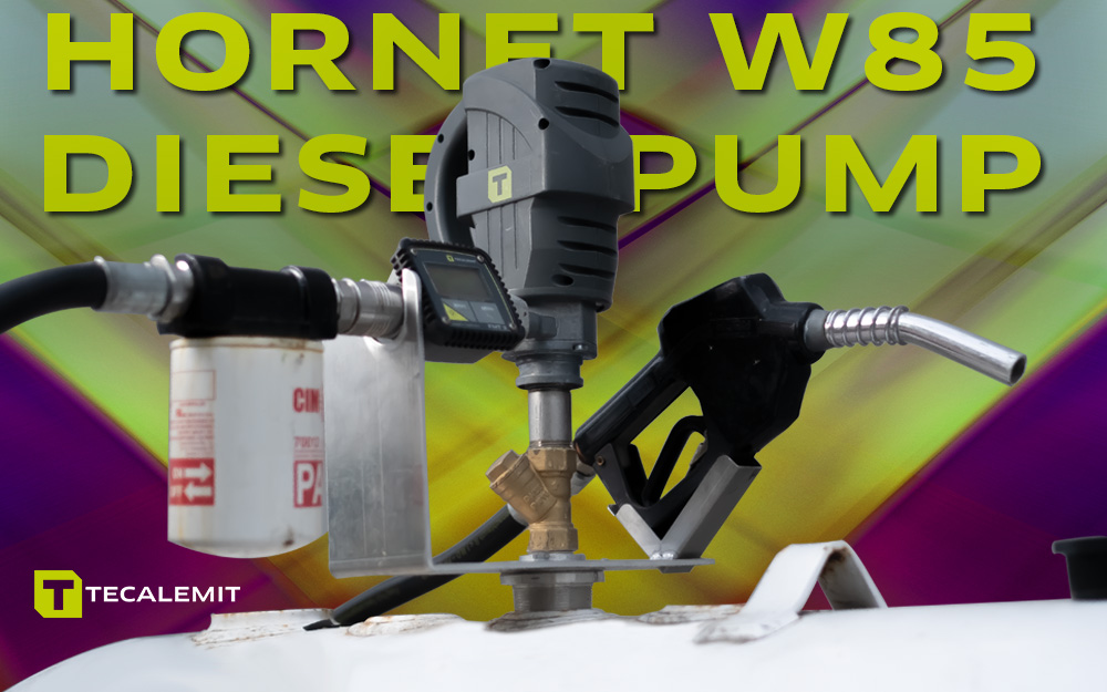 TECALEMIT's Hornet W85 Diesel Transfer Pump - Ditch the Heavy Pumps and Make Your Life Easier