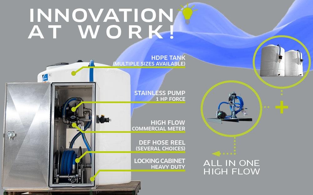 TECALEMIT's DEF Mini Bulk High Flow System