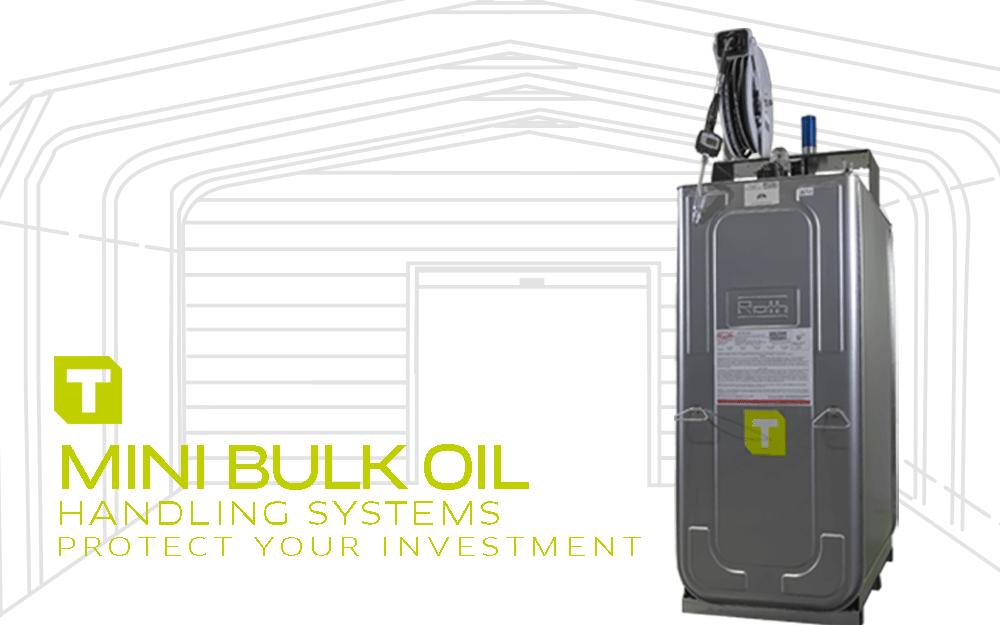 TECALEMIT's Mini Bulk Oil Tank Packages