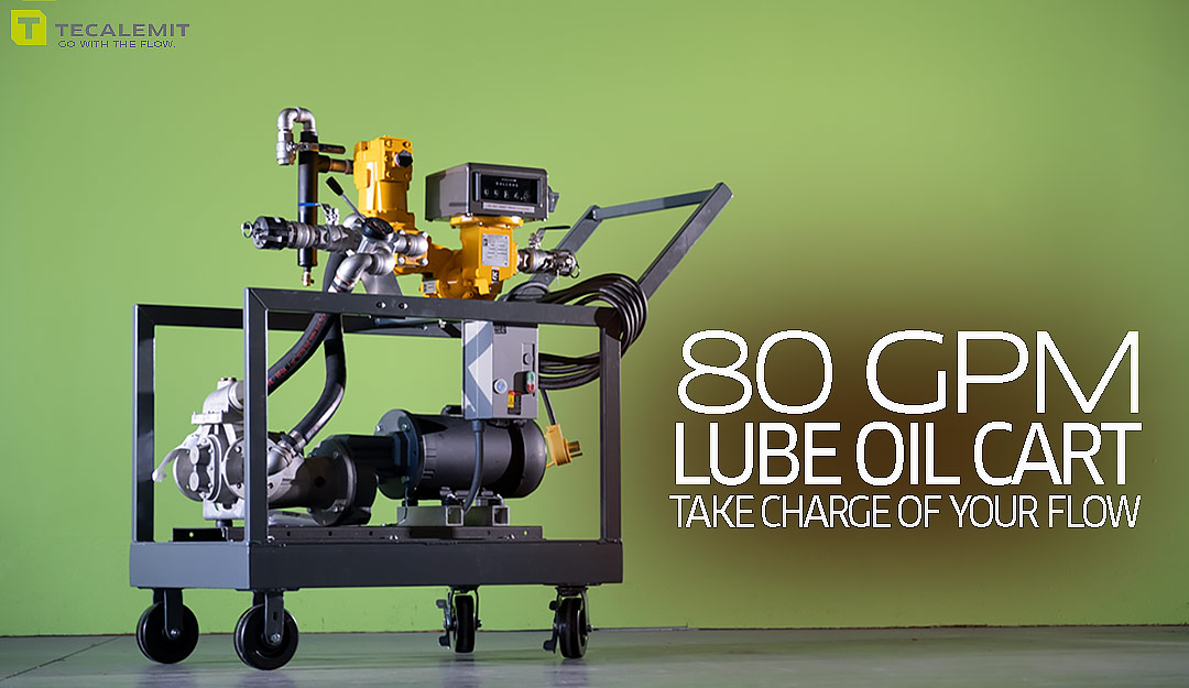 High flow lube oil transfer pumps