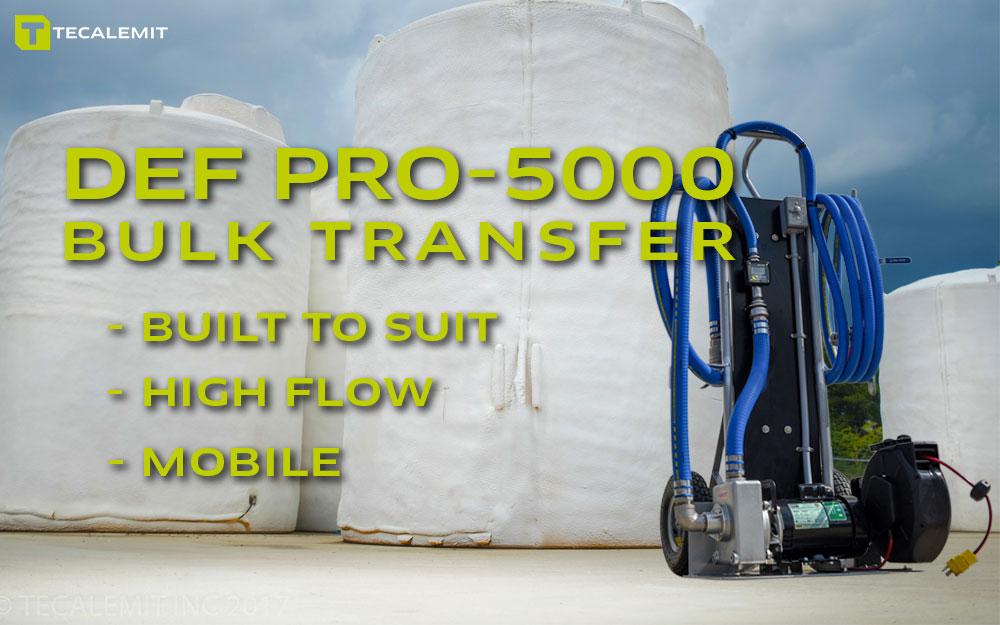 TECALEMIT's DEF PRO-5000 Bulk Transfer System