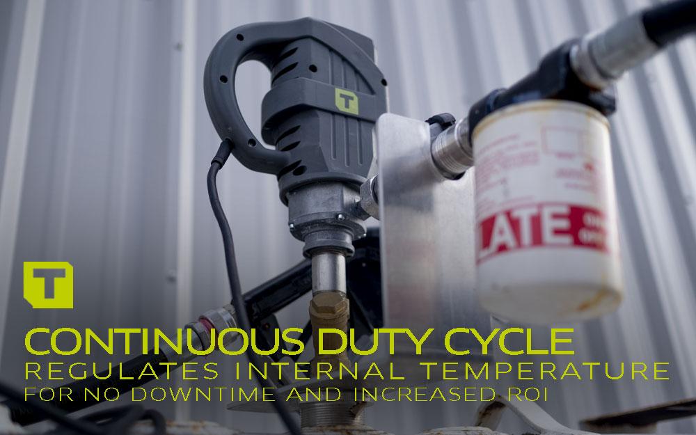 TECALEMIT's Continuous Duty Cycle Diesel Pump