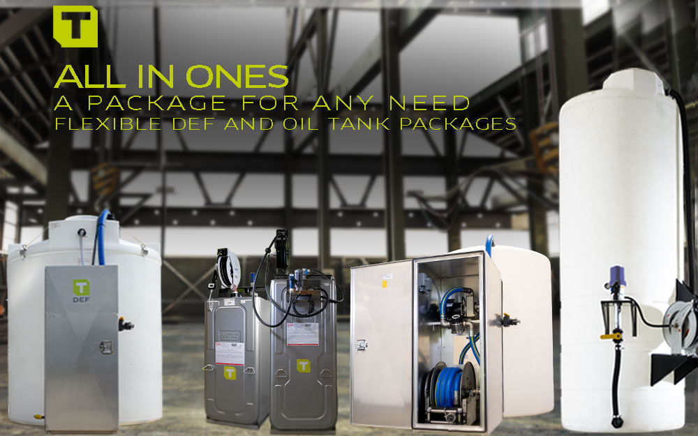 TECALEMIT's All In One Bulk Tank Packages