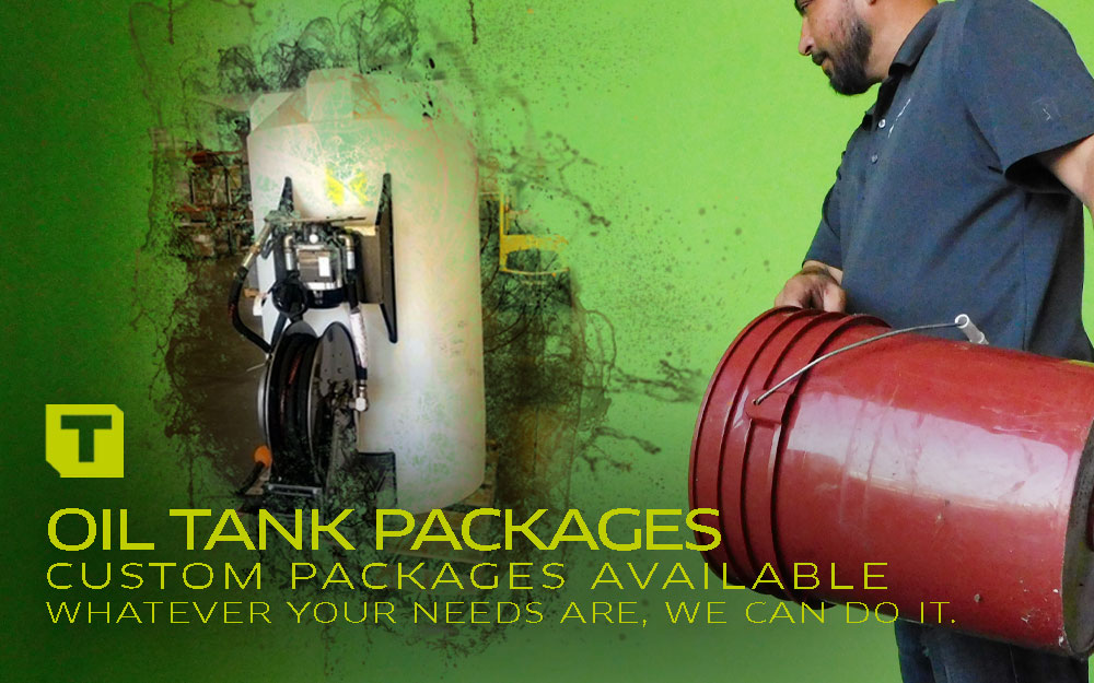 TECALEMIT's Oil Tank Packages
