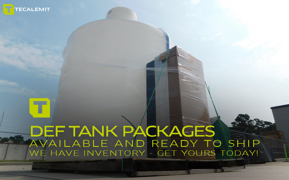 TECALEMIT's DEF Mini Bulk Tank Packages