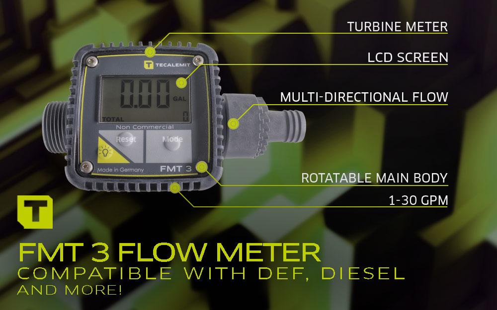 TECALEMIT's Diesel Flow Meter