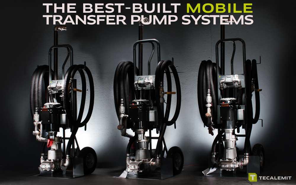 Mobile transfer pumps