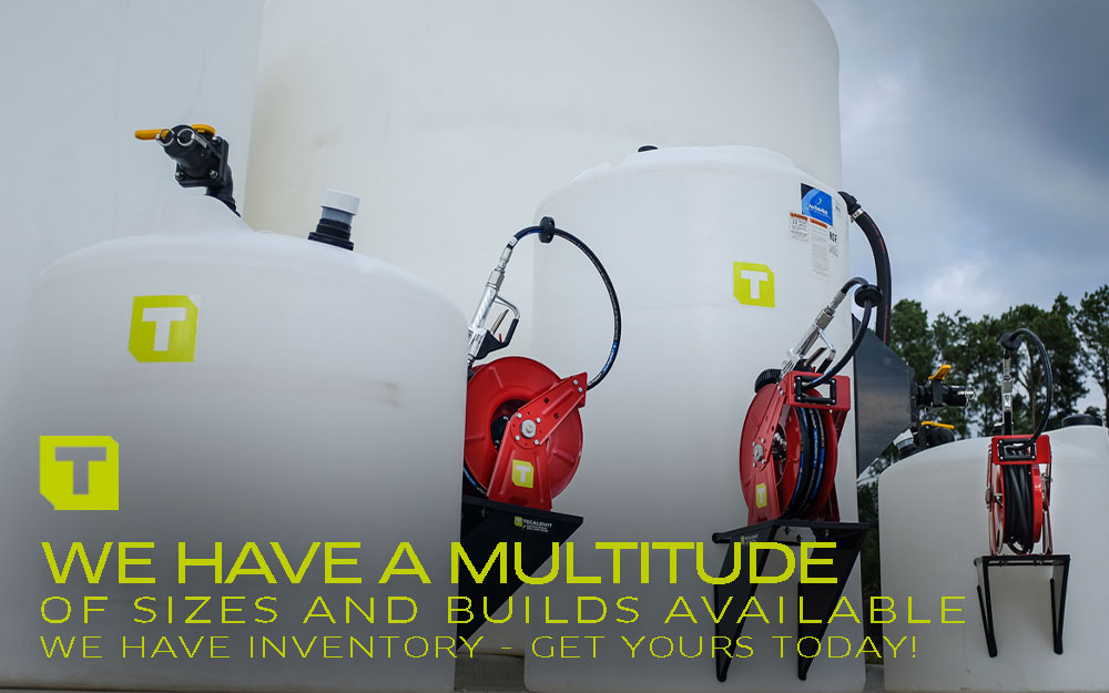 TECALEMIT's All In One Bulk Oil and DEF Tanks